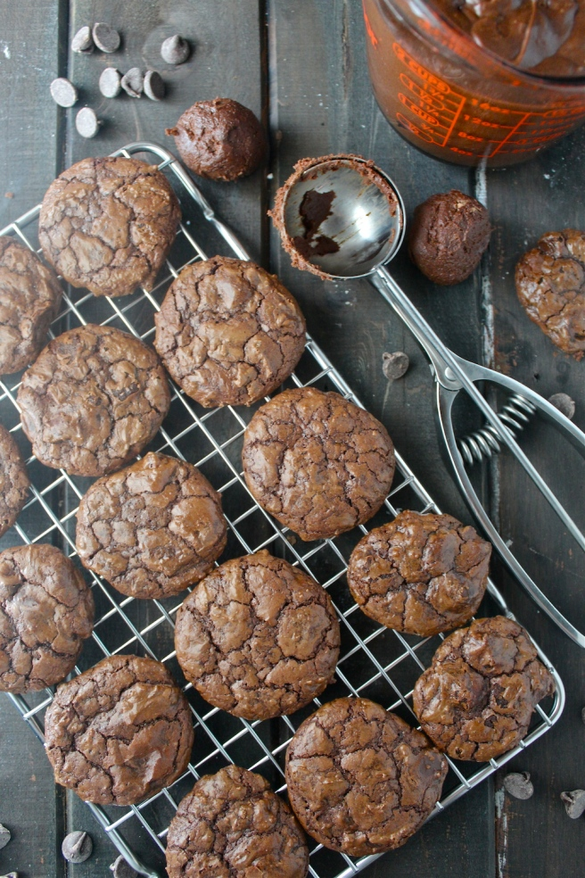 These Triple Chocolate Cookies are rich, sweet, and chewy - one of my family's favorite Christmas treats! | The Millennial Cook #cookies #chocolate #chocolatecookies