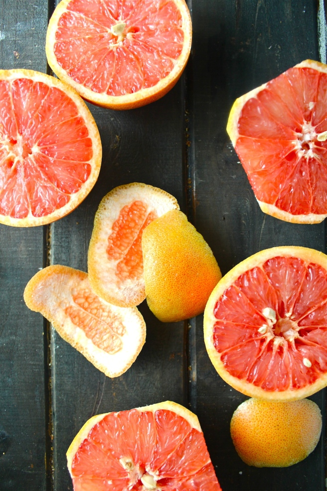 This Grapefruit Yogurt Pound Cake is so rich, sweet, and tart - the perfect rustic homemade dessert! | The Millennial Cook #winterrecipe #poundcake #grapefruit #citrus