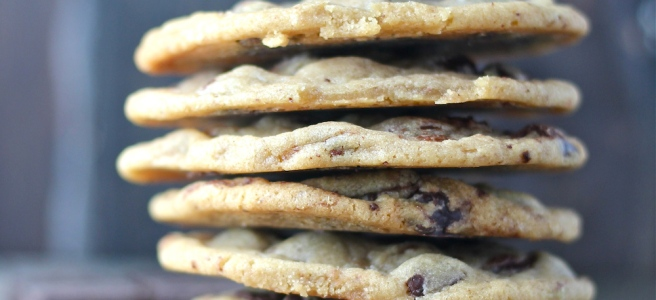 These Chocolate Chip Cookies - with plenty of browned butter, vanilla extract, and semisweet chocolate - are truly the best version of this classic treat! | The Millennial Cook #cookies #chocolate #chocolatechipcookies